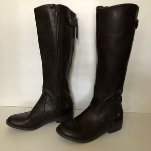 Report Chocolate Brown Riding Boots size 8